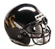 Wake Forest Demon Deacons Full Size Authentic Helmet by Schutt Image