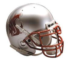 Washington State Cougars Full Size Authentic Helmet by Schutt Image