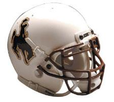Wyoming Cowboys Full Size Authentic Helmet by Schutt Image