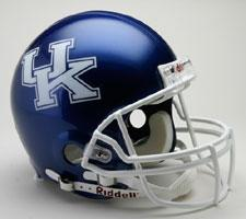 Kentucky Wildcats College Pro Line Helmet by Riddell - Login for SALE Price Image