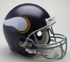 Minnesota Vikings Helmet 1961-79 Throwback Deluxe Replica Full Size by Riddell