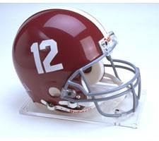 Alabama Crimson Tide College Pro Line Helmet by Riddell #12
