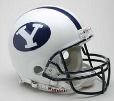 Brigham Young Cougars College Pro Line Helmet by Riddell - Login for SALE Price Image