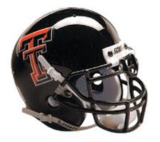Texas Tech Red Raiders Full Size Authentic Helmet by Schutt Image