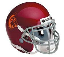 USC Trojans Full Size Authentic Helmet by Schutt