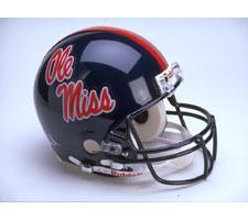 Mississippi Ole Miss Rebels College Pro Line Helmet by Riddell - Login for SALE Price Image