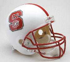 North Carolina State Wolfpack College Deluxe Replica Full Size Helmet by Riddell
