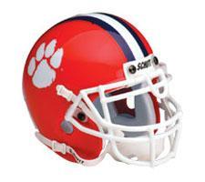 Clemson Tigers Replica Full Size Helmet by Schutt Image
