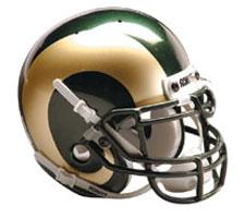 Colorado State Rams Replica Full Size Helmet by Schutt Image