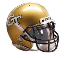 Georgia Tech Yellow Jackets Replica Full Size Helmet by Schutt Image