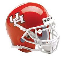 Houston Cougars Replica Full Size Helmet by Schutt Image