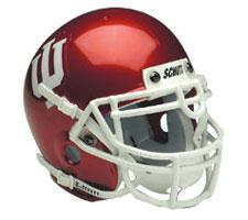 Indiana Hoosiers Replica Full Size Helmet by Schutt Image