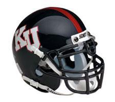 Kansas Jayhawks Replica Full Size Helmet by Schutt Image