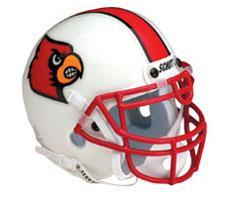 Louisville Cardinals Replica Full Size Helmet by Schutt Image