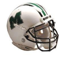 Marshall Thundering Herd Replica Full Size Helmet by Schutt Image