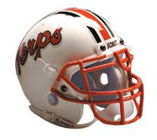 Maryland Terrapins Replica Full Size Helmet by Schutt Image