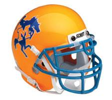 McNeese State Cowboys Replica Full Size Helmet by Schutt Image