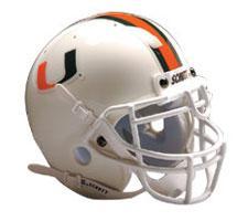 Miami Hurricanes Replica Full Size Helmet by Schutt Image