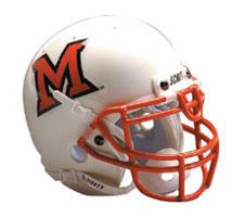 Miami of Ohio RedHawks Replica Full Size Helmet by Schutt Image