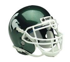 Michigan State Spartans Replica Full Size Helmet by Schutt Image