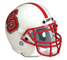 North Carolina State Wolfpack Replica Full Size Helmet by Schutt Image