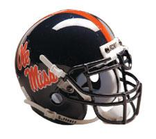 Mississippi Ole Miss Rebels Replica Full Size Helmet by Schutt Image