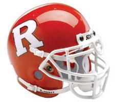 Rutgers Scarlet Knights Replica Full Size Helmet by Schutt Image