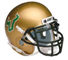 South Florida Bulls Replica Full Size Helmet by Schutt Image