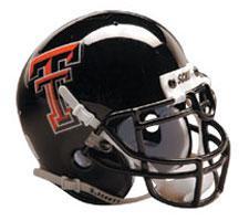 Texas Tech Red Raiders Replica Full Size Helmet by Schutt Image
