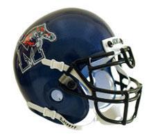 Memphis Tigers Replica Full Size Helmet by Schutt Image