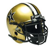 Vanderbilt Commodores Replica Full Size Helmet by Schutt Image