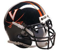 Virginia Cavaliers Replica Full Size Helmet by Schutt Image