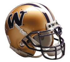 Wahington Huskies Replica Full Size Helmet by Schutt Image