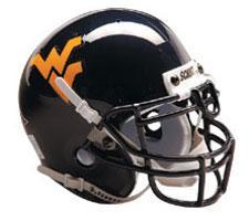 West Virginia Mountaineers Replica Full Size Helmet by Schutt Image