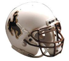 Wyoming Cowboys Replica Full Size Helmet by Schutt Image