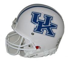 Kentucky Wildcats Replica Full Size Helmet by Schutt Image