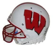 Wisconsin Badgers Replica Full Size Helmet by Schutt Image