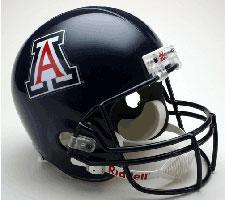 Arizona Wildcats College Deluxe Replica Full Size Helmet by Riddell