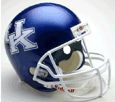 Kentucky Wildcats College Deluxe Replica Full Size Helmet by Riddell