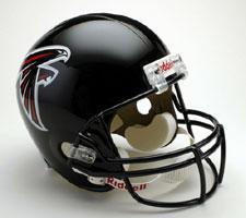 Atlanta Falcons Helmet 2003-Present Deluxe Replica Full Size by Riddell
