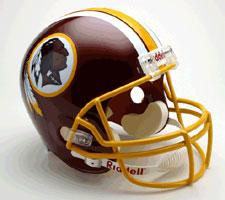 Washington Redskins Helmet 1983-Present Deluxe Replica Full Size by Riddell
