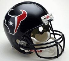 Houston Texans Helmet 2002-Present Deluxe Replica Full Size by Riddell