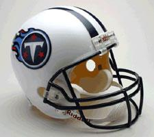 Tennessee Titans Helmet 1999-Present Deluxe Replica Full Size by Riddell