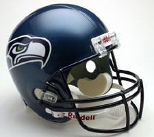 Seattle Seahawks Helmet 2002-2011 Deluxe Replica Full Size by Riddell