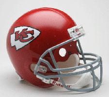 Kansas City Chiefs Helmet 1963-73 Throwback Deluxe Replica Full Size by Riddell