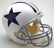 Dallas Cowboys Helmet 1960-63 Throwback Deluxe Replica Full Size by Riddell