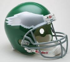Philadelphia Eagles Helmet 1974-95 Throwback Deluxe Replica Full Size by Riddell