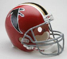Atlanta Falcons Helmet 1966-69 Throwback Deluxe Replica Full Size by Riddell