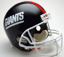 New York Giants Helmet 1981-99 Throwback Deluxe Replica Full Size by Riddell