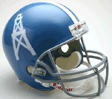 Houston Oilers Helmet 1960-62 Throwback Deluxe Replica Full Size by Riddell